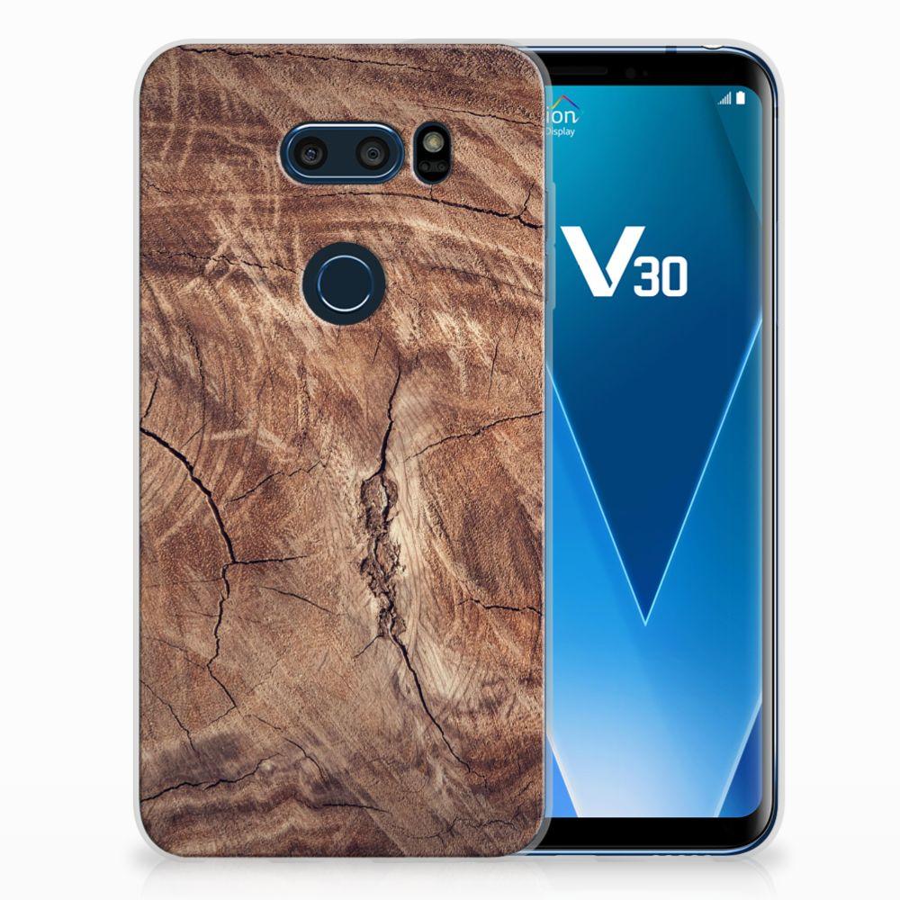 LG V30 TPU Hoesje Design Tree Trunk