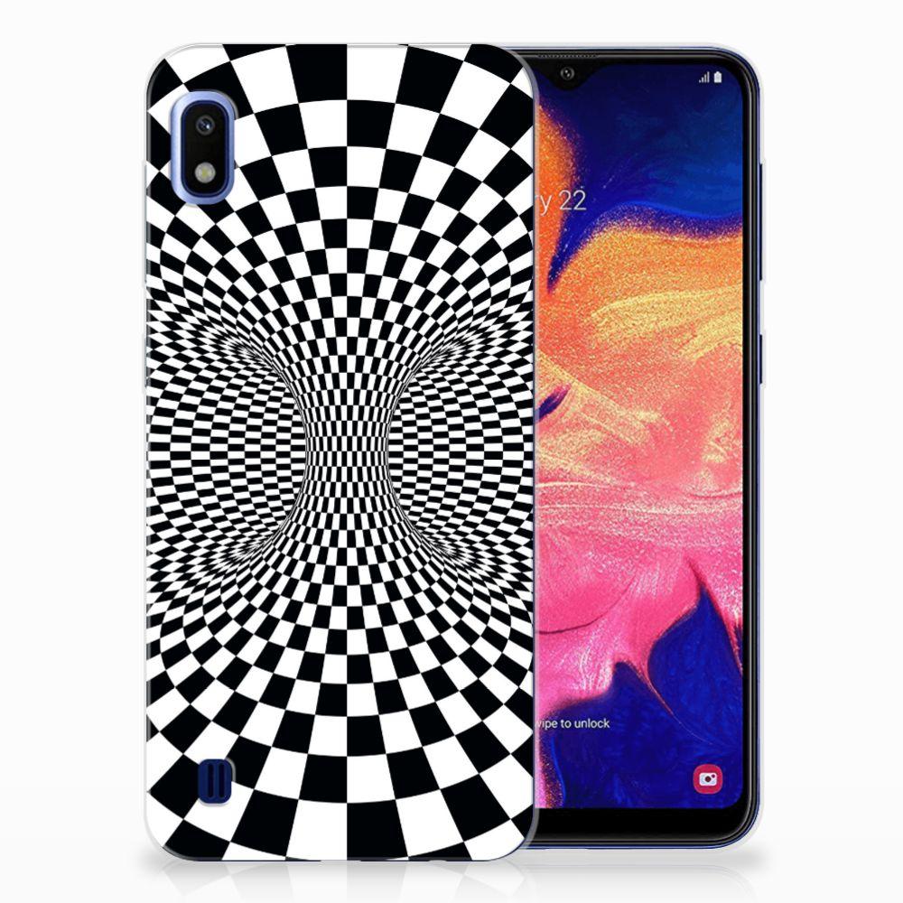 Samsung Galaxy A10 TPU Hoesje Illusie