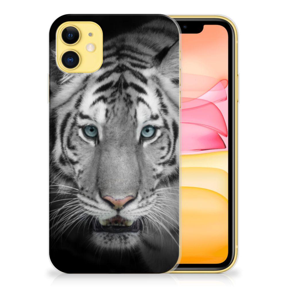 Apple iPhone 11 TPU Hoesje Tijger