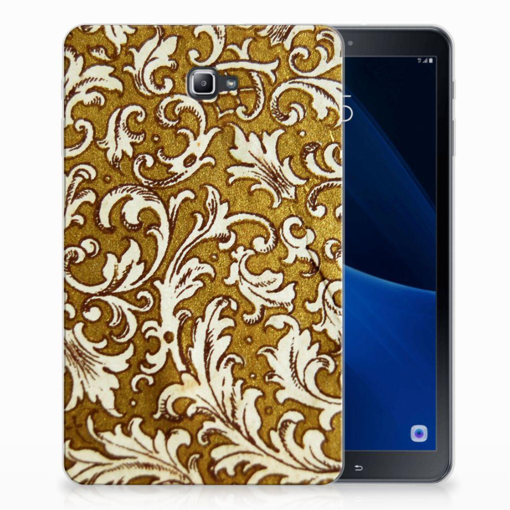 Samsung Galaxy Tab A 10.1 Tablethoesje Design Barok Goud