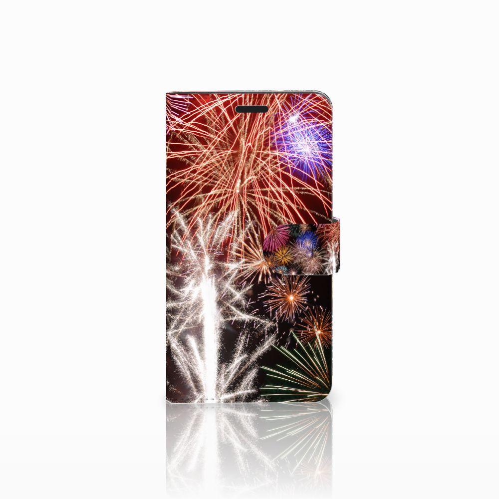 Sony Xperia T3 Boekhoesje Design Vuurwerk