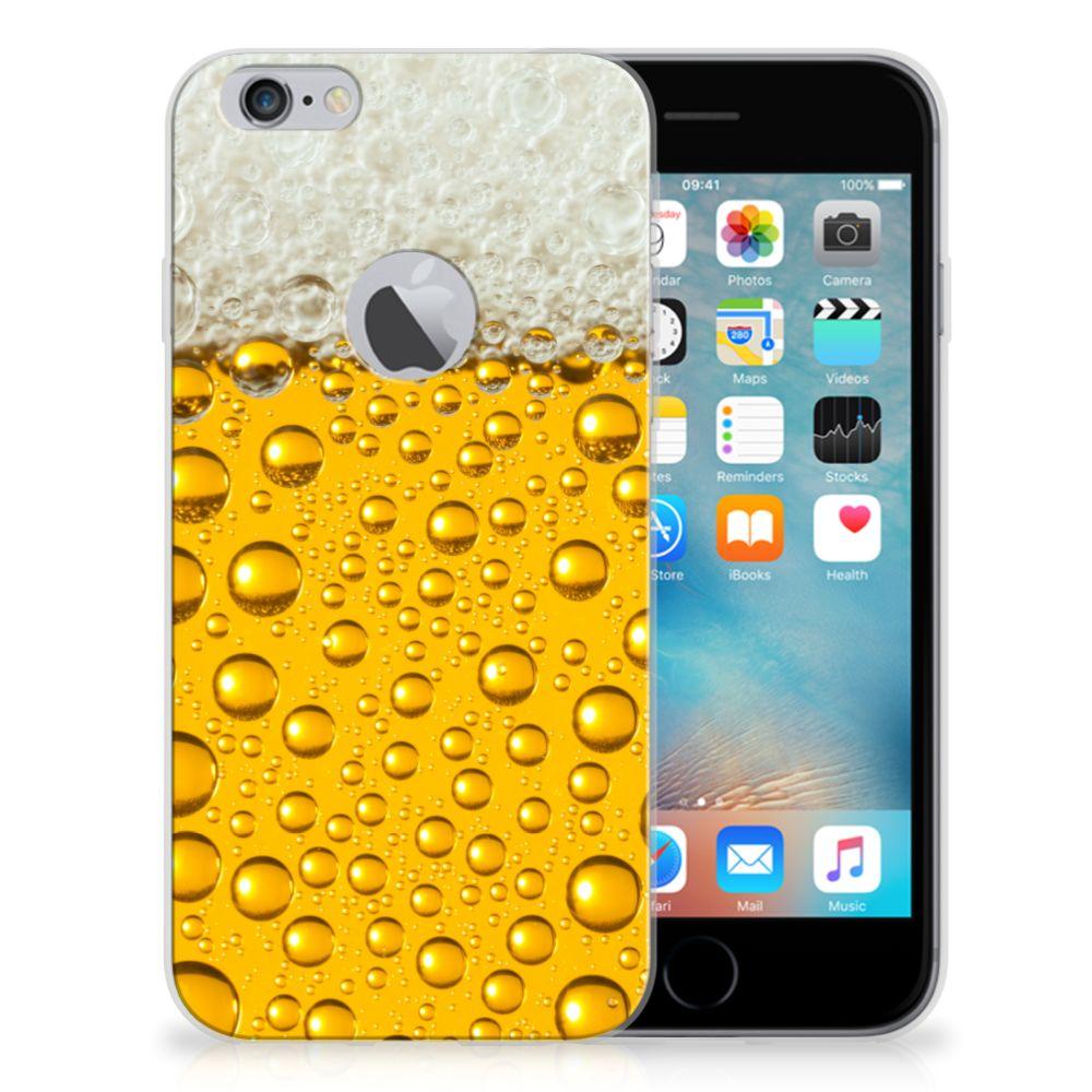 Apple iPhone 6 Plus   6s Plus Siliconen Case Bier