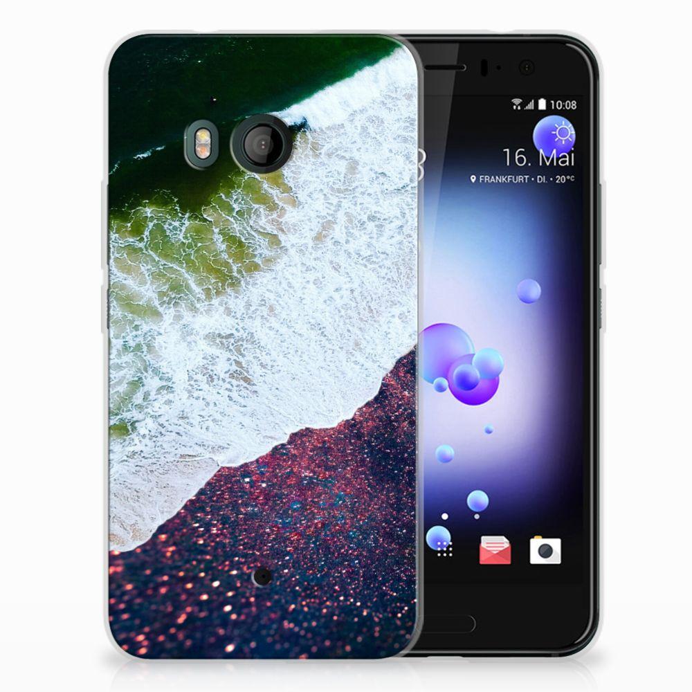 HTC U11 TPU Hoesje Sea in Space