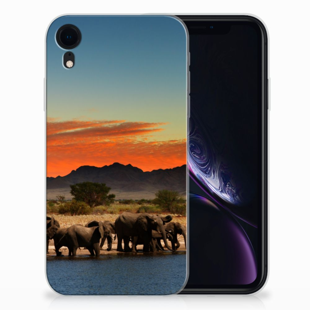 Apple iPhone Xr TPU Hoesje Olifanten