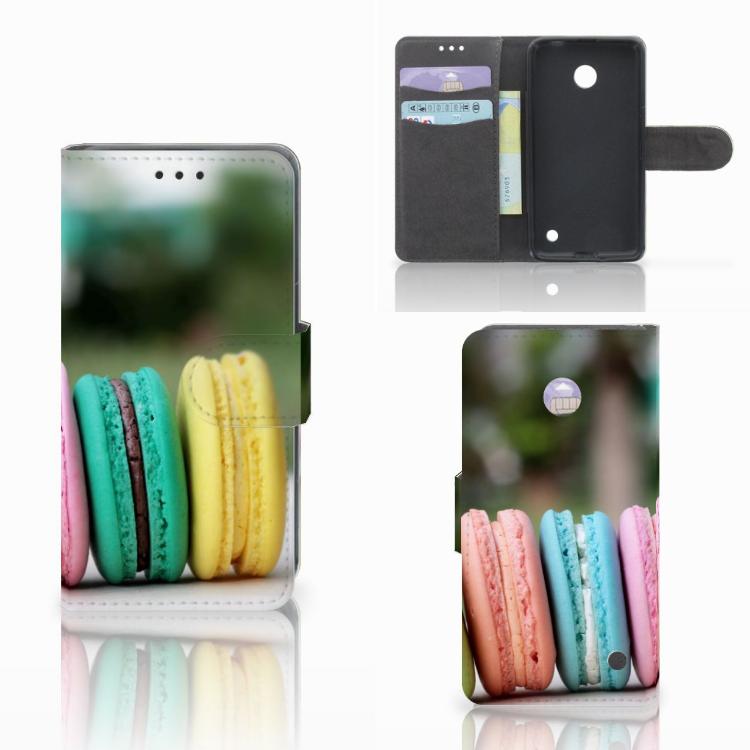 Nokia Lumia 630 Book Cover Macarons