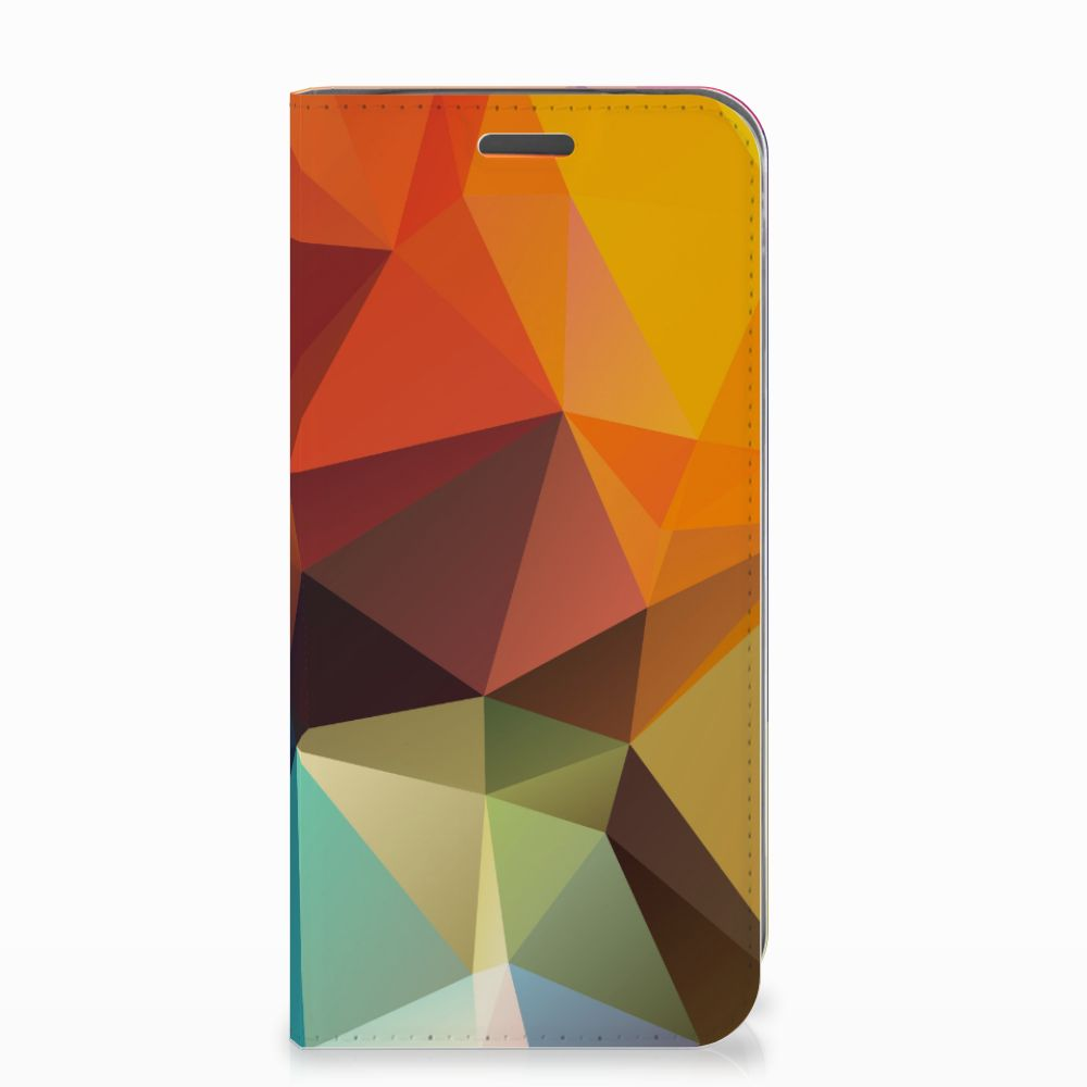 Motorola Moto E5 Play Stand Case Polygon Color