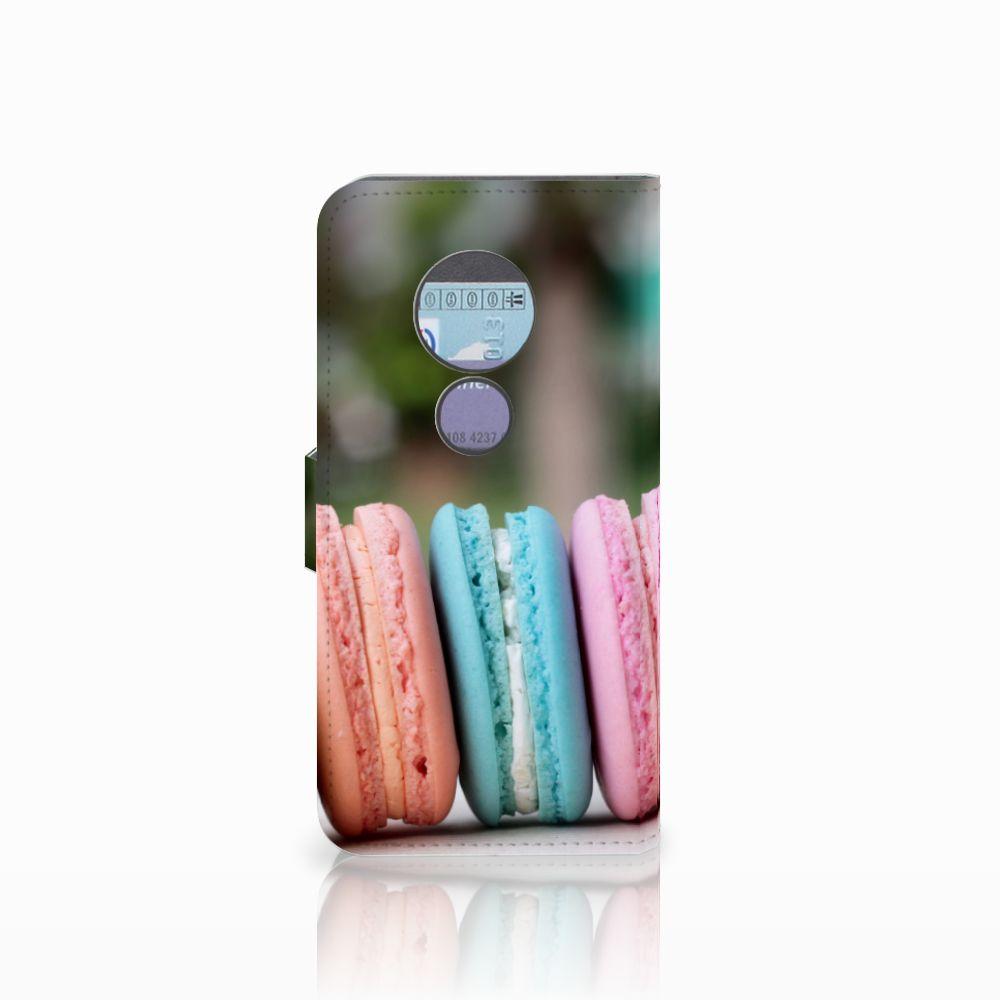 Motorola Moto G6 Play Book Cover Macarons