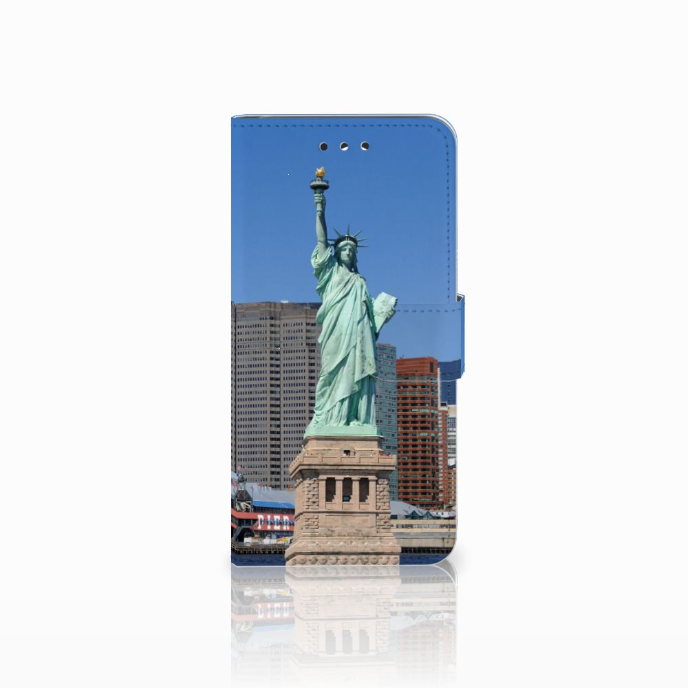 LG G7 Thinq Uniek Boekhoesje Vrijheidsbeeld