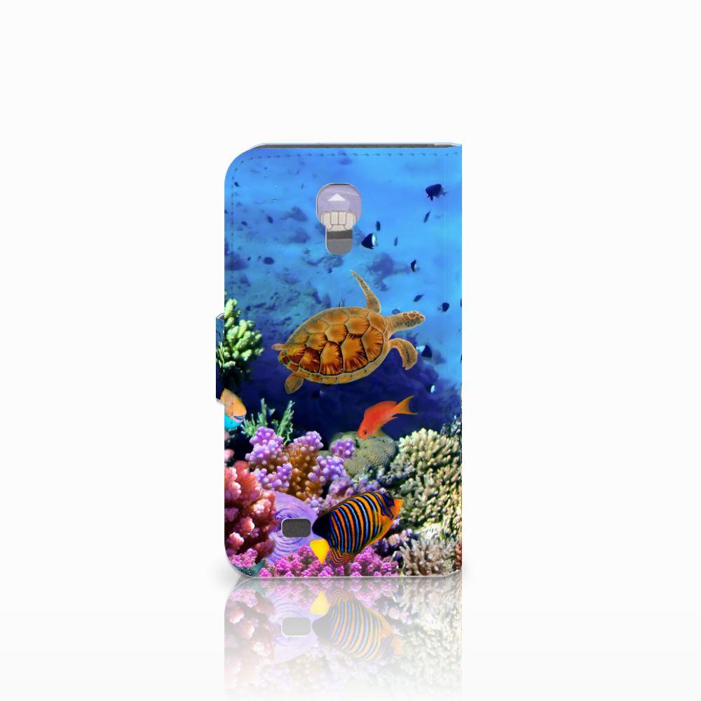 Samsung Galaxy S4 Telefoonhoesje met Pasjes Vissen