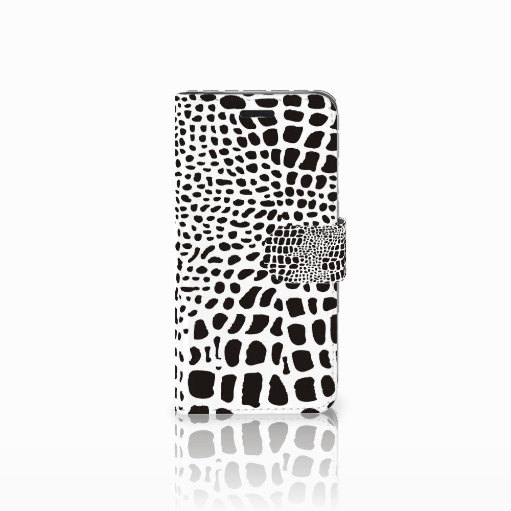 Acer Liquid Z530   Z530s Telefoonhoesje met Pasjes Slangenprint