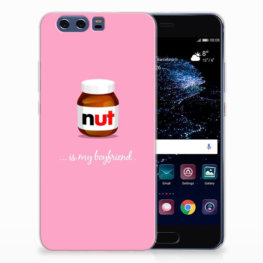 Huawei P10 Plus Siliconen Case Nut Boyfriend