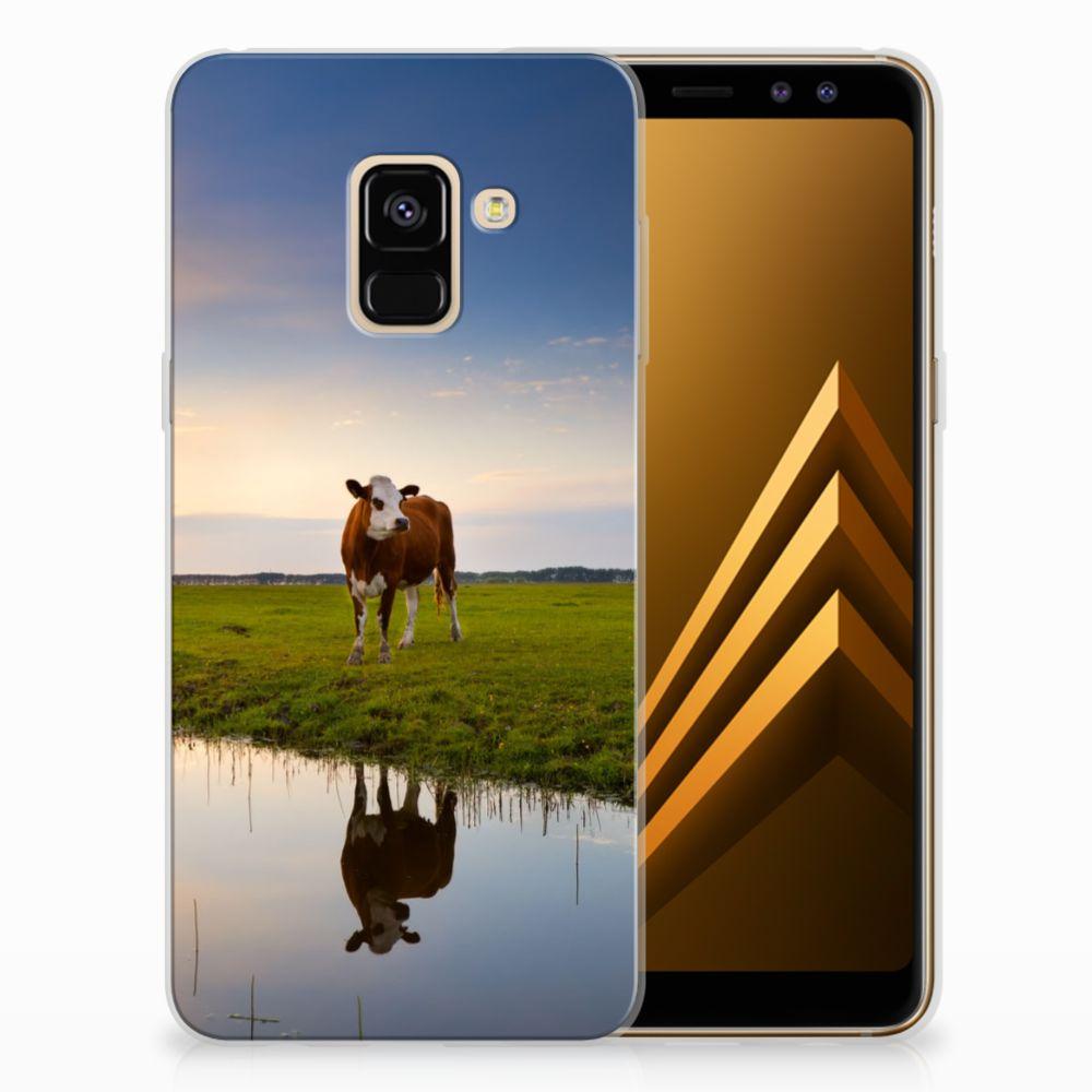 Samsung Galaxy A8 (2018) TPU Hoesje Design Koe