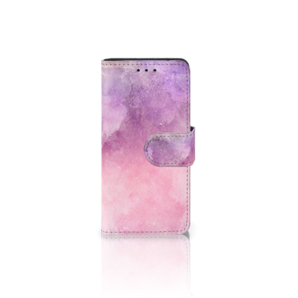 Hoesje Samsung Galaxy S5 Mini Pink Purple Paint