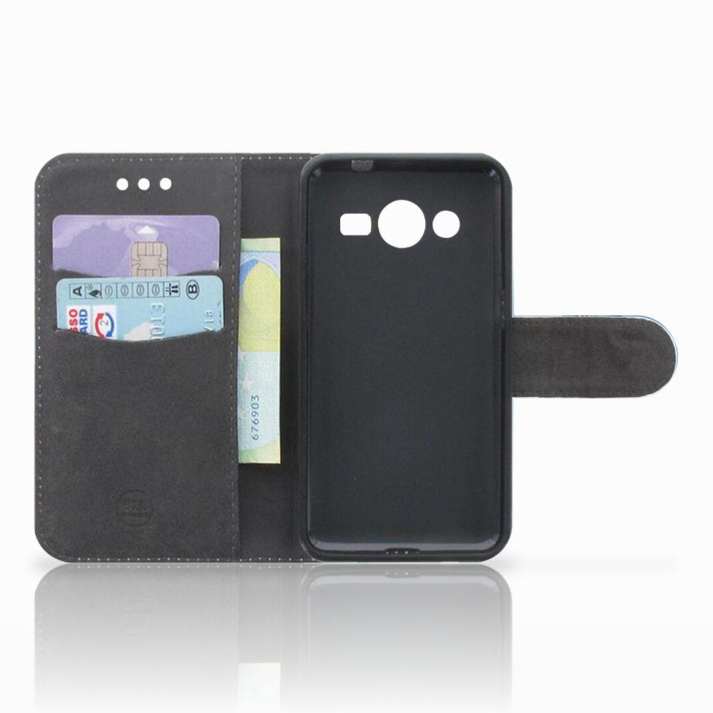 Samsung Galaxy Core 2 Uniek Boekhoesje Vlinders