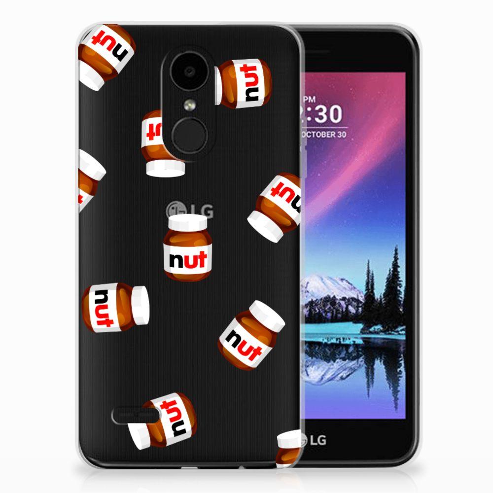 LG K4 (2017) Siliconen Case Nut Jar