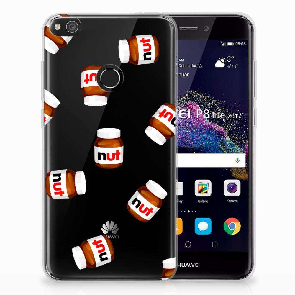 Huawei P8 Lite 2017 Siliconen Case Nut Jar