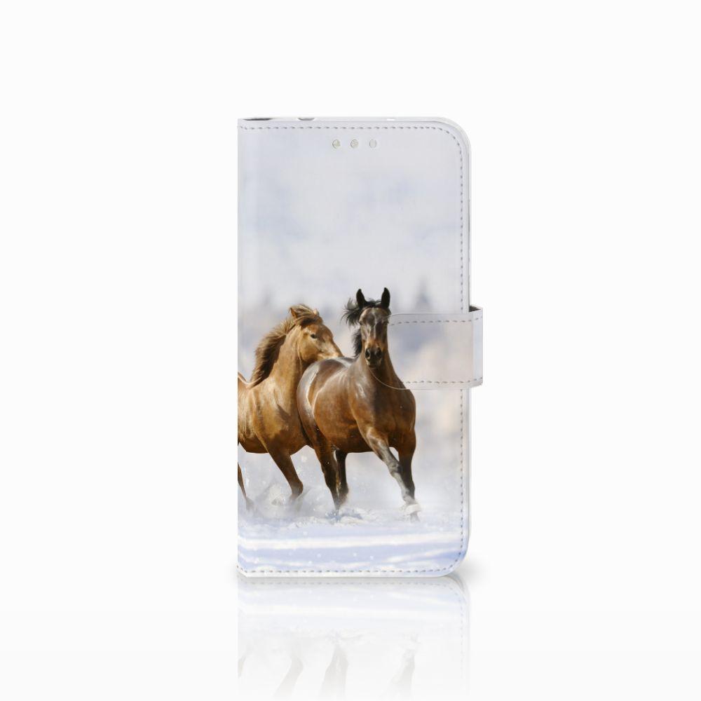 Huawei P20 Pro Uniek Boekhoesje Paarden