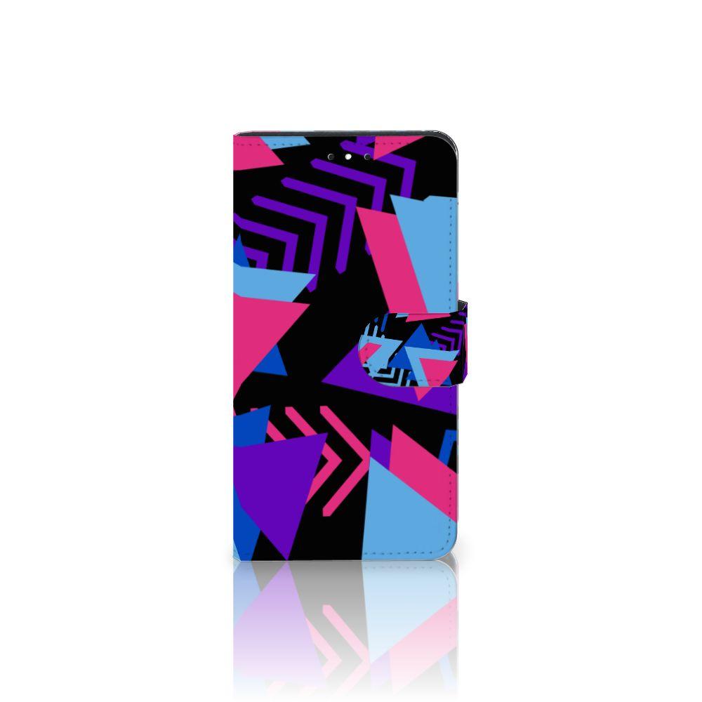 Motorola Moto G5S Plus Bookcase Funky Triangle