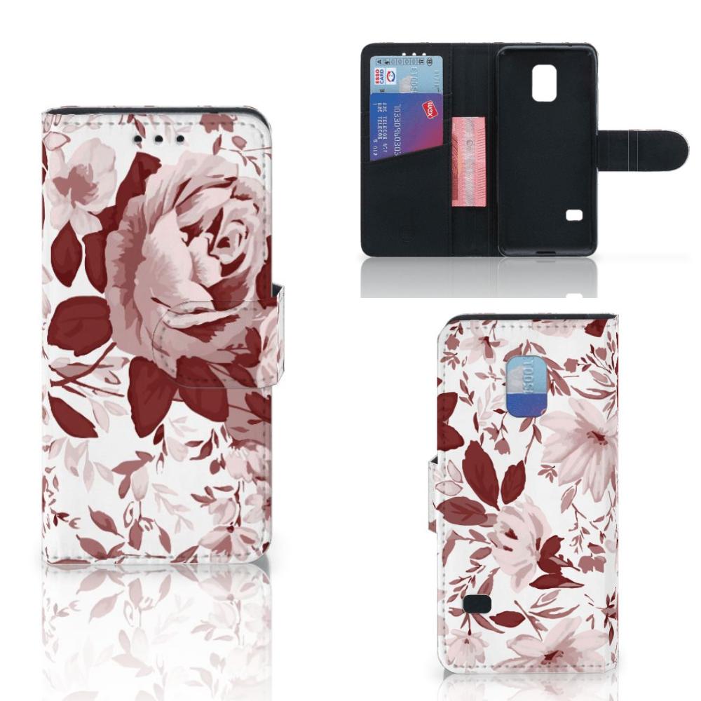 Hoesje Samsung Galaxy S5 Mini Watercolor Flowers