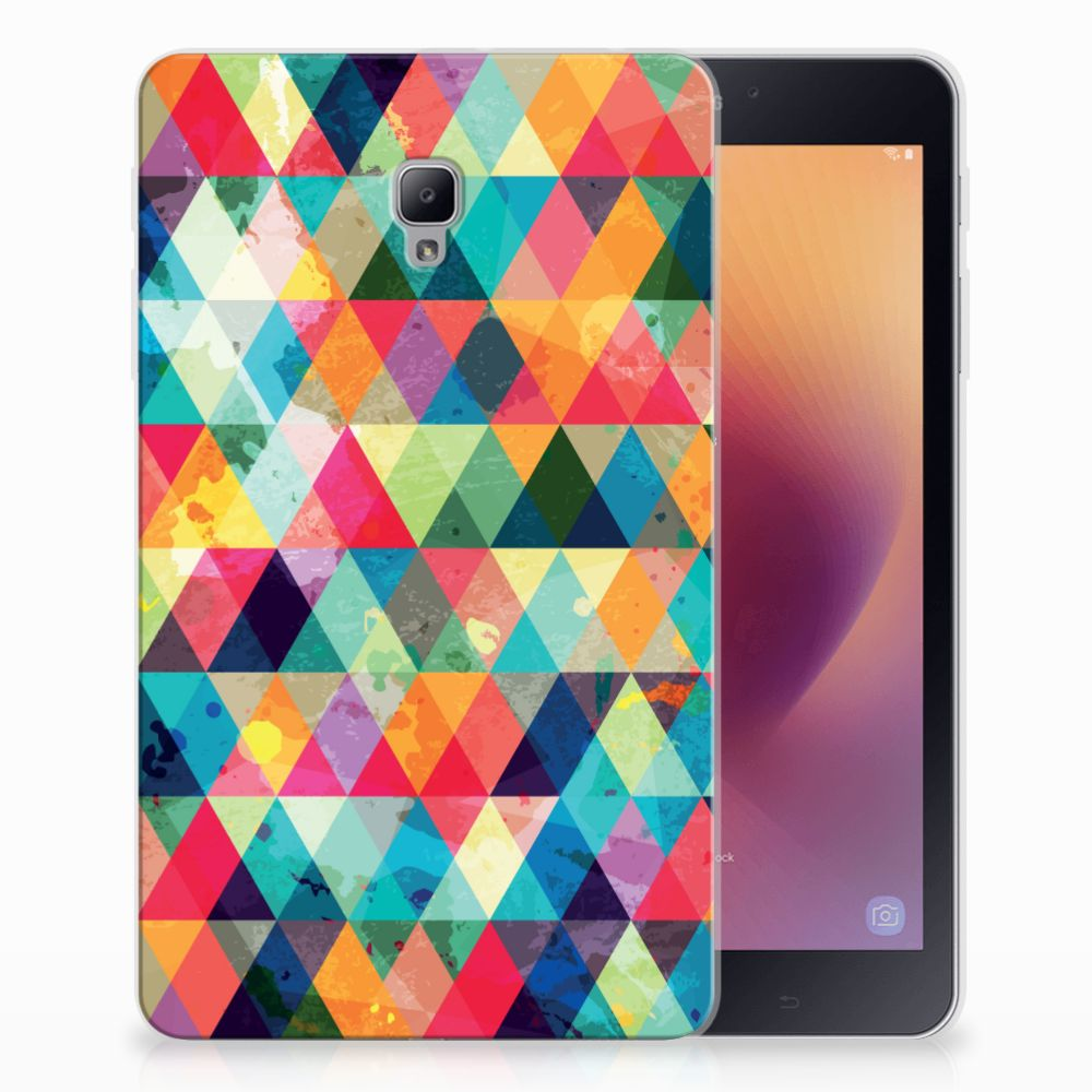 Samsung Galaxy Tab A 8.0 (2017) Hippe Hoes Geruit