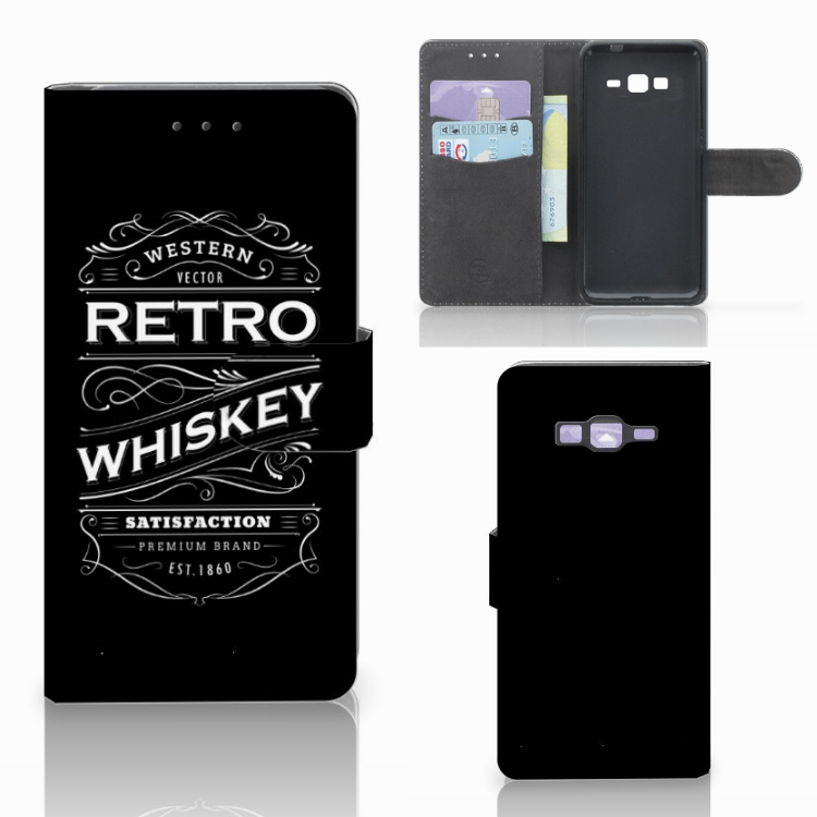 Samsung Galaxy Grand Prime | Grand Prime VE G531F Book Cover Whiskey