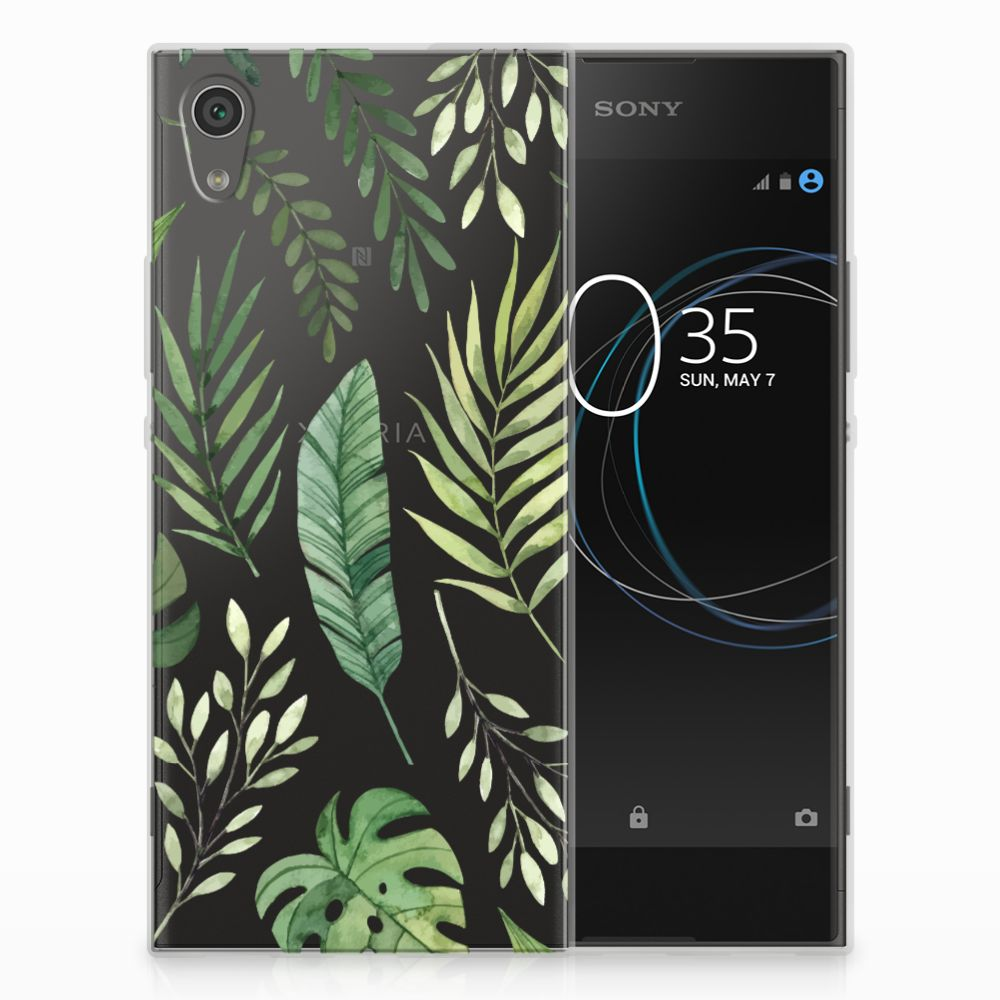 Sony Xperia XA1 TPU Case Leaves