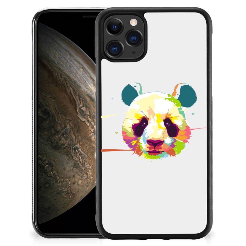 Apple iPhone 11 Pro Bumper Hoesje Panda Color