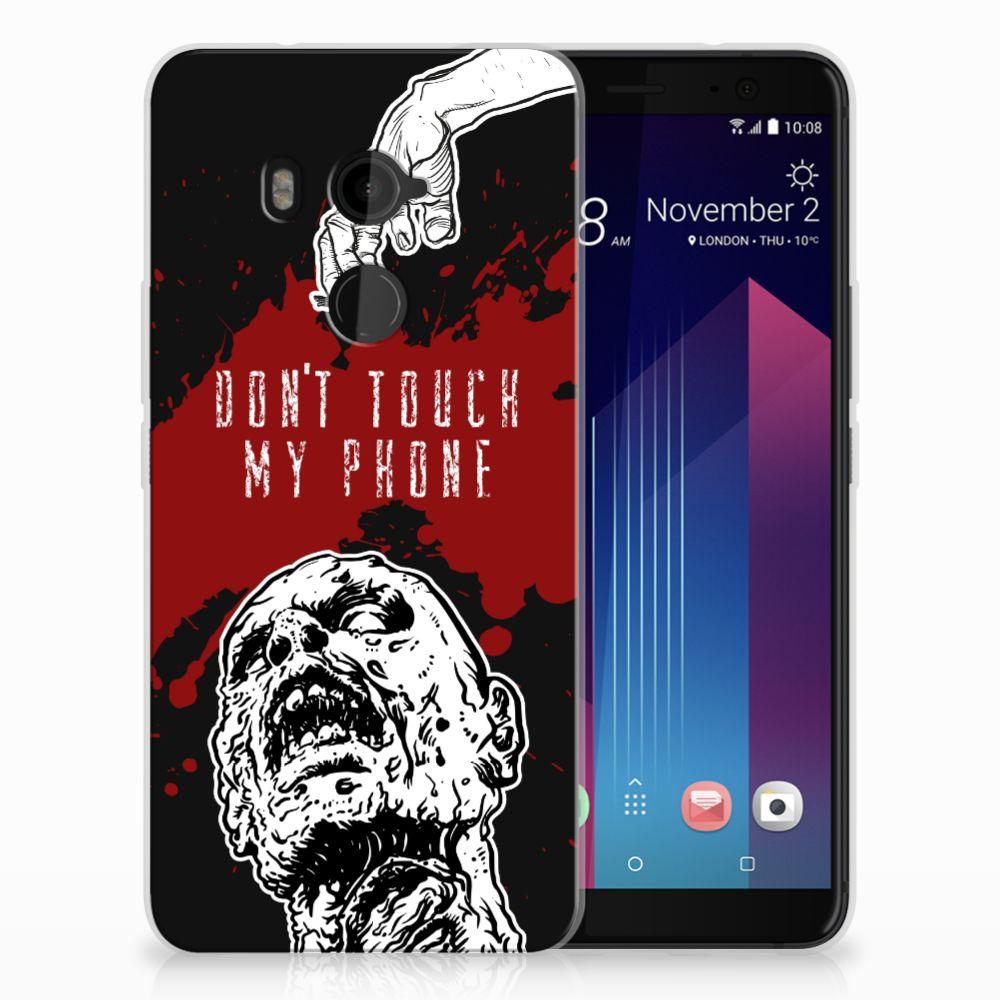 HTC U11 Plus TPU Hoesje Design Zombie Blood