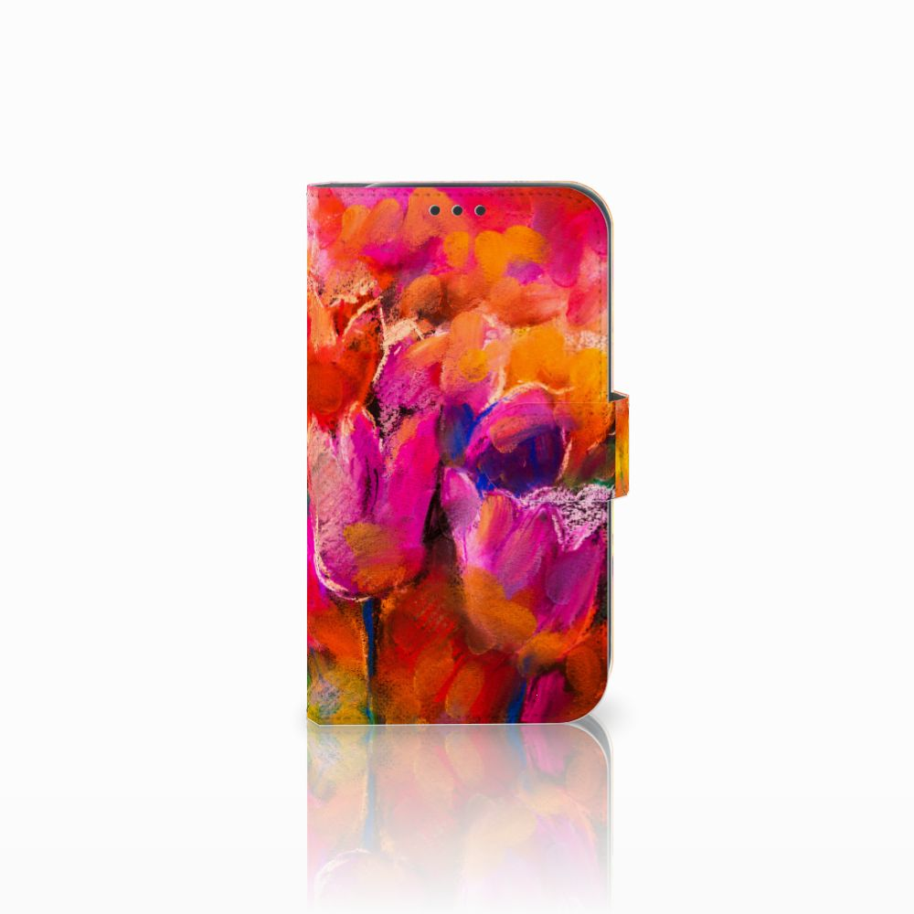 Samsung Galaxy Xcover 4 Boekhoesje Design Tulips