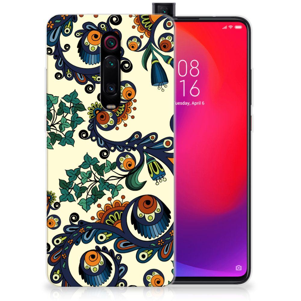 Siliconen Hoesje Xiaomi Mi 9T Pro   Redmi K20 Pro Barok Flower