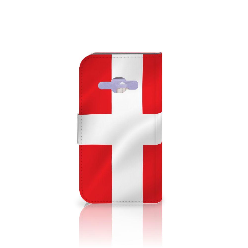 Samsung Galaxy J1 2016 Bookstyle Case Denemarken