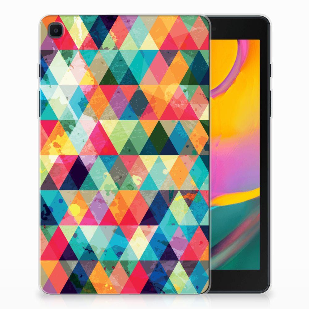 Samsung Galaxy Tab A 8.0 (2019) Hippe Hoes Geruit