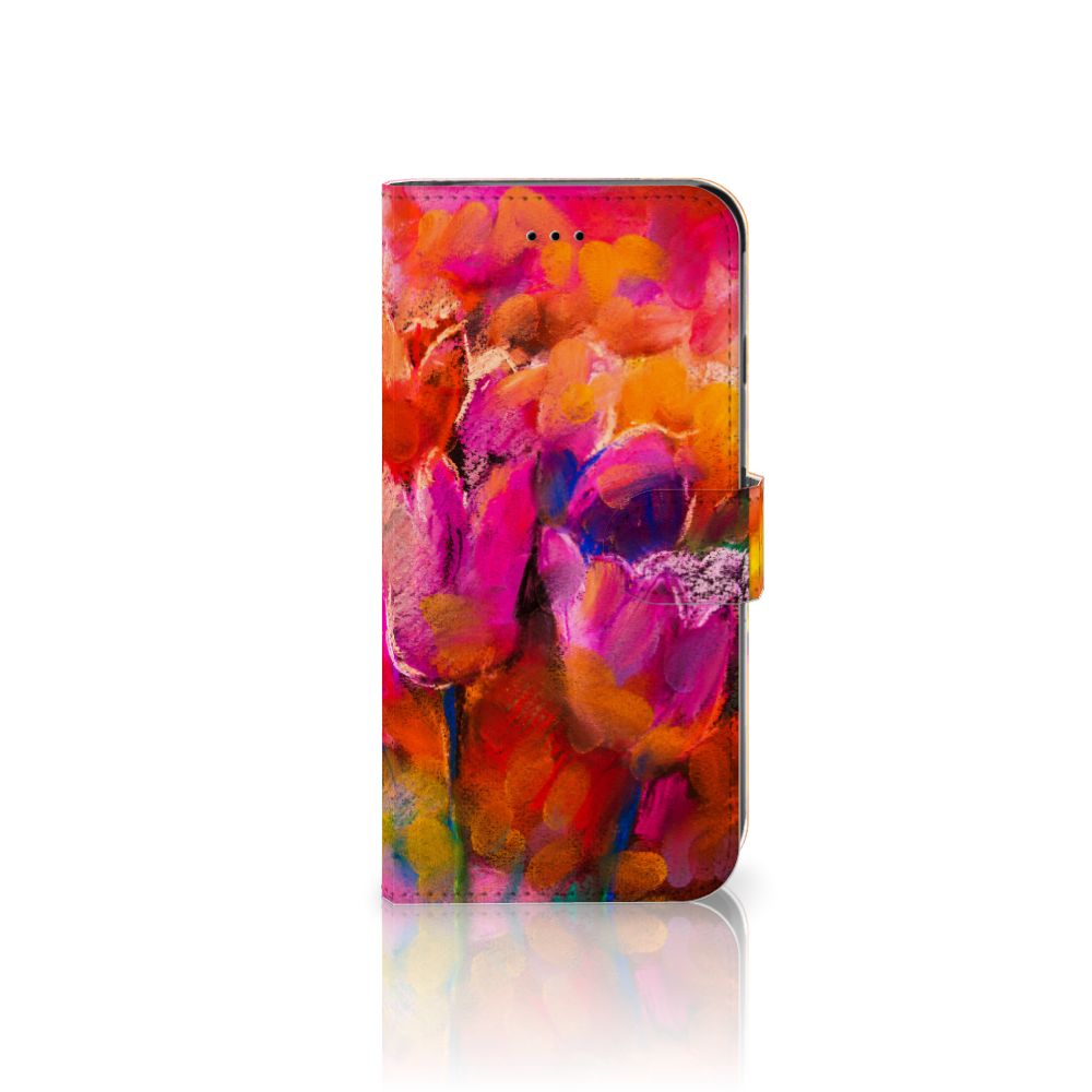 Apple iPhone 6 Plus | 6s Plus Boekhoesje Design Tulips