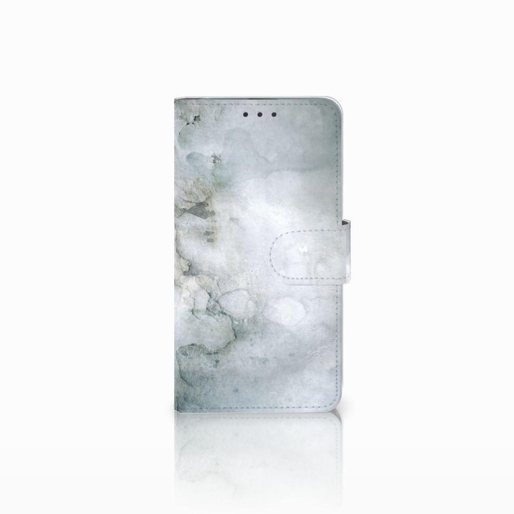 Microsoft Lumia 640 Uniek Boekhoesje Painting Grey