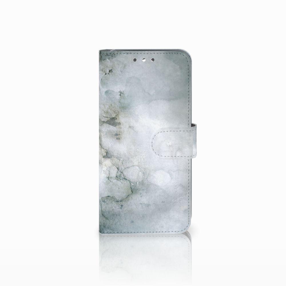 Wiko Wim Uniek Boekhoesje Painting Grey