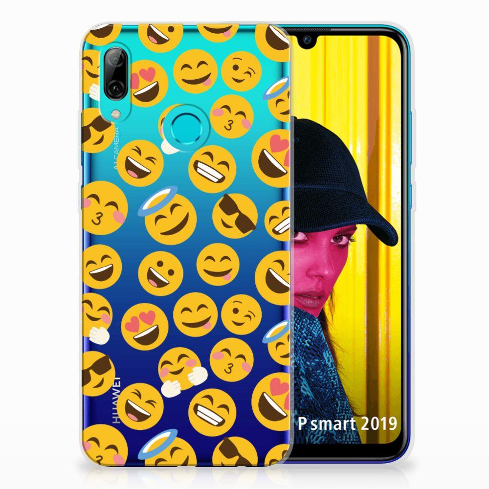 Huawei P Smart 2019 TPU bumper Emoji