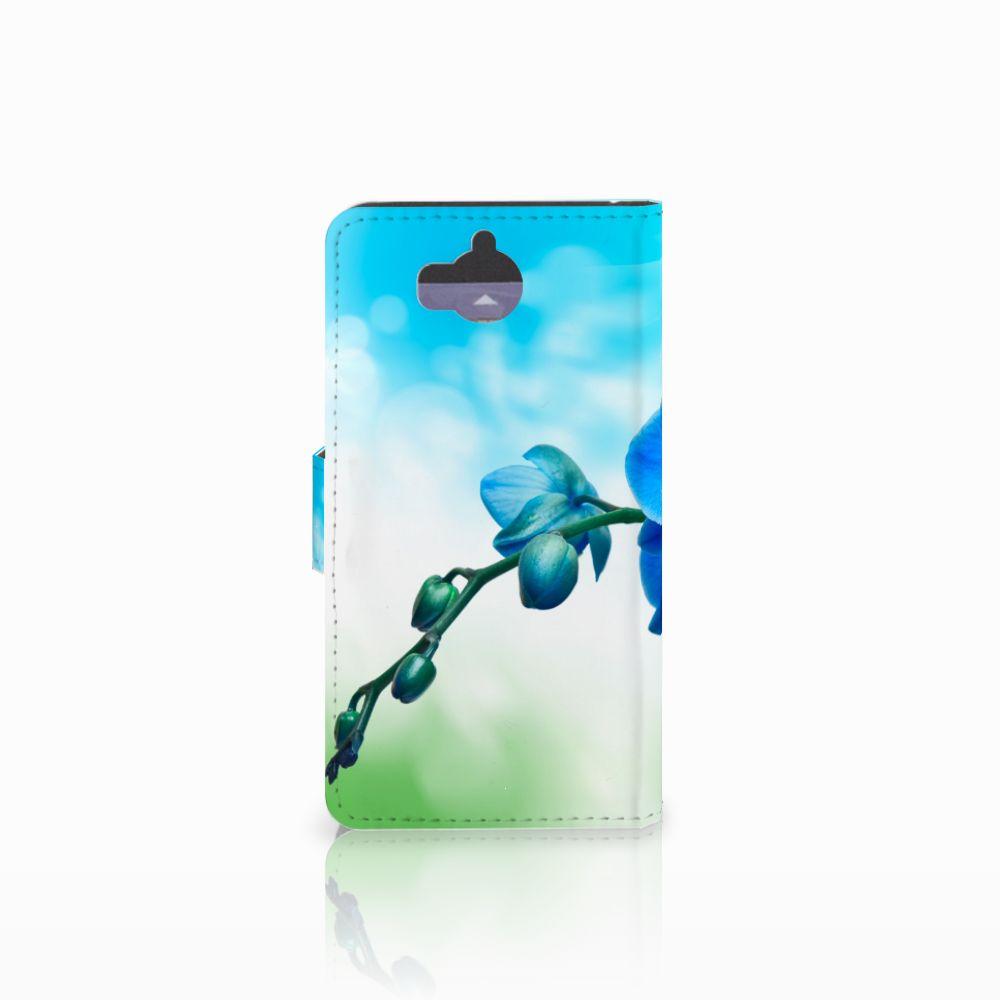 Huawei Y5 | Y6 2017 Hoesje Orchidee Blauw