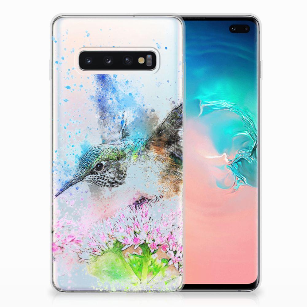 Hoesje maken Samsung Galaxy S10 Plus Vogel