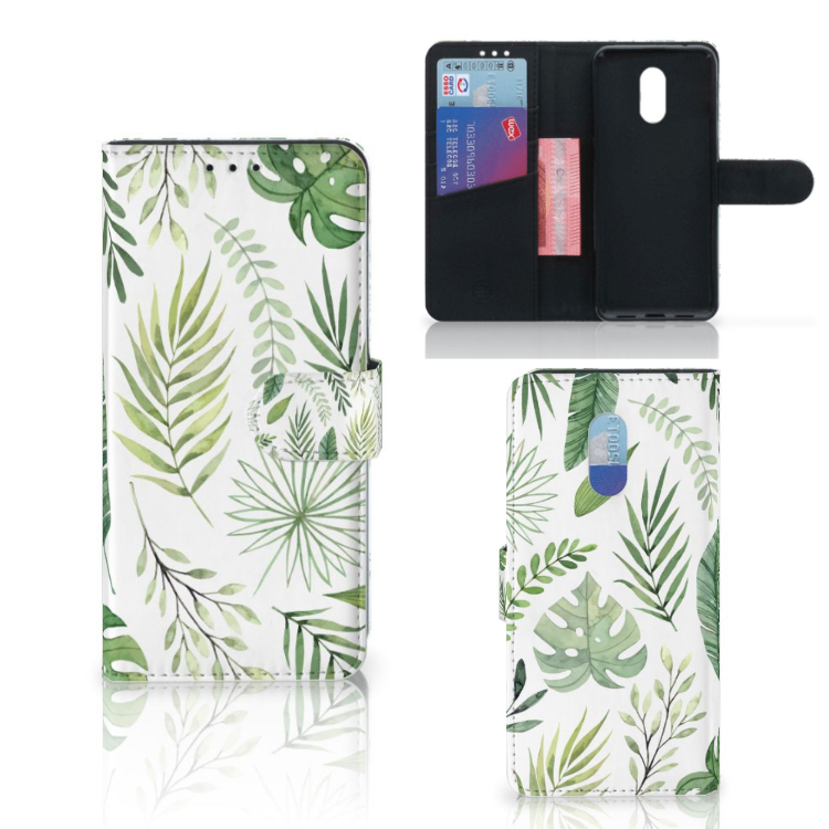 OnePlus 6T Hoesje Leaves