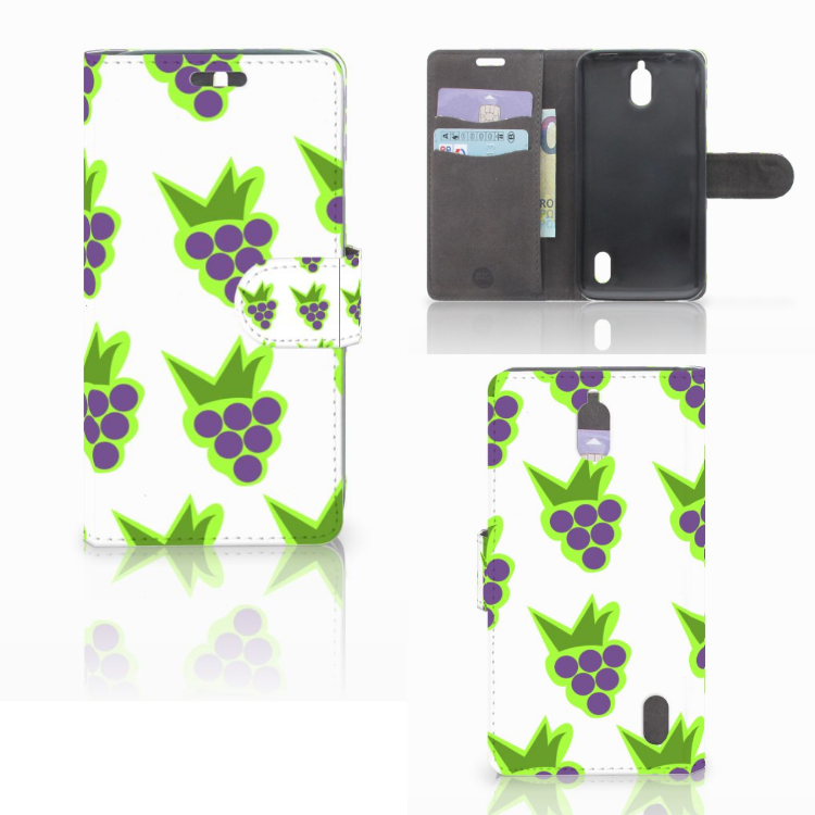 Huawei Y625 Book Cover Druiven