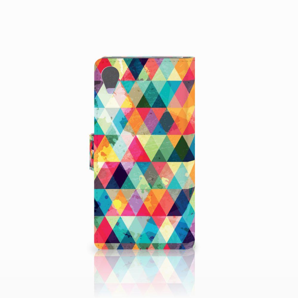 Sony Xperia X Performance Telefoon Hoesje Geruit