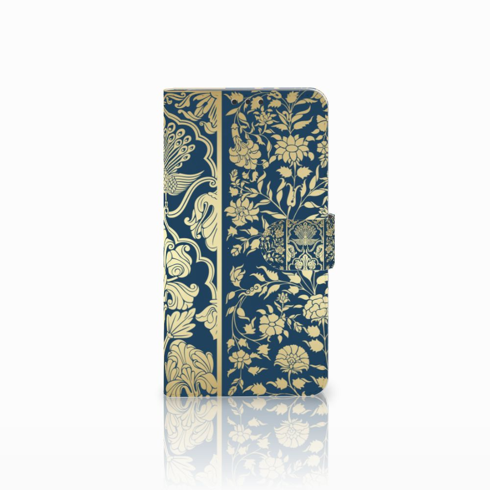 Microsoft Lumia 640 XL Boekhoesje Golden Flowers