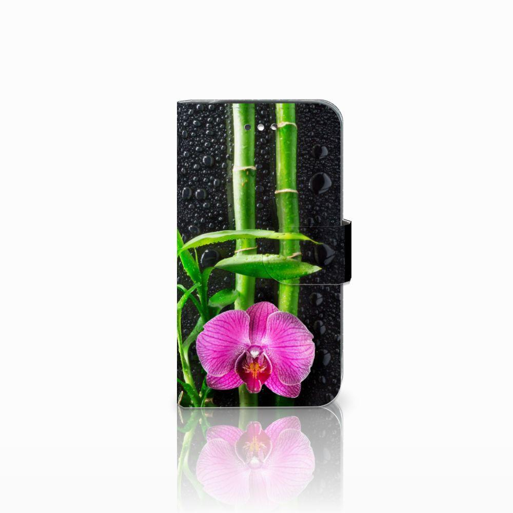 Samsung Galaxy S4 Boekhoesje Design Orchidee