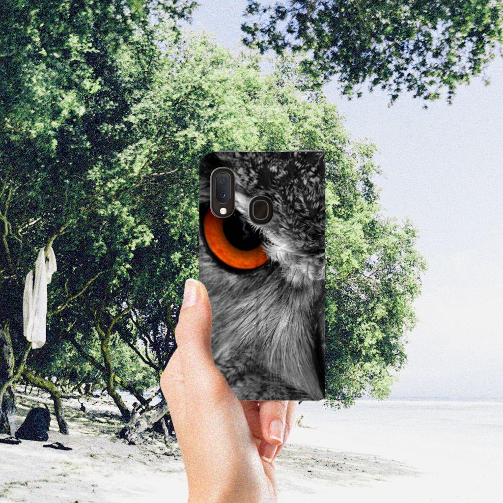 Samsung Galaxy A20e Hoesje maken Uil