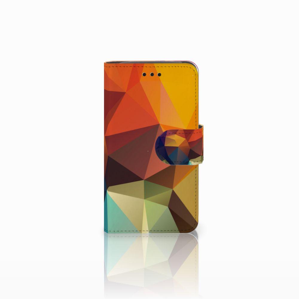 Samsung Galaxy Core i8260 Bookcase Polygon Color