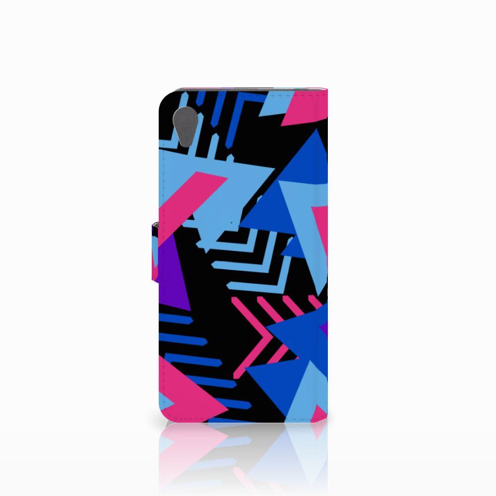 Sony Xperia Z5 Premium Bookcase Funky Triangle