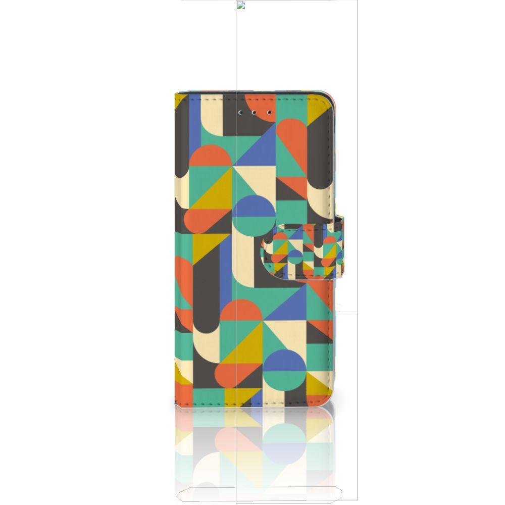 Huawei P20 Uniek Boekhoesje Funky Retro