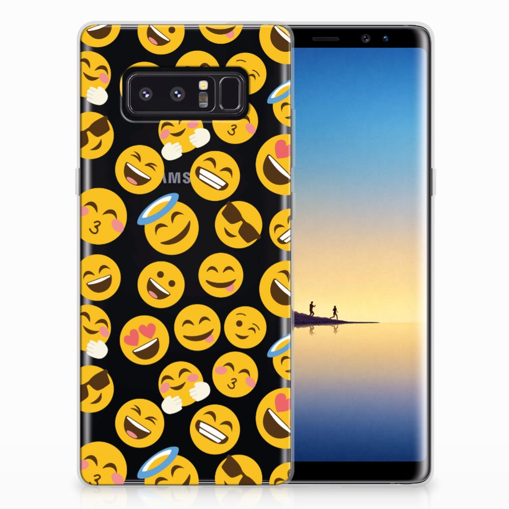 Samsung Galaxy Note 8 TPU bumper Emoji