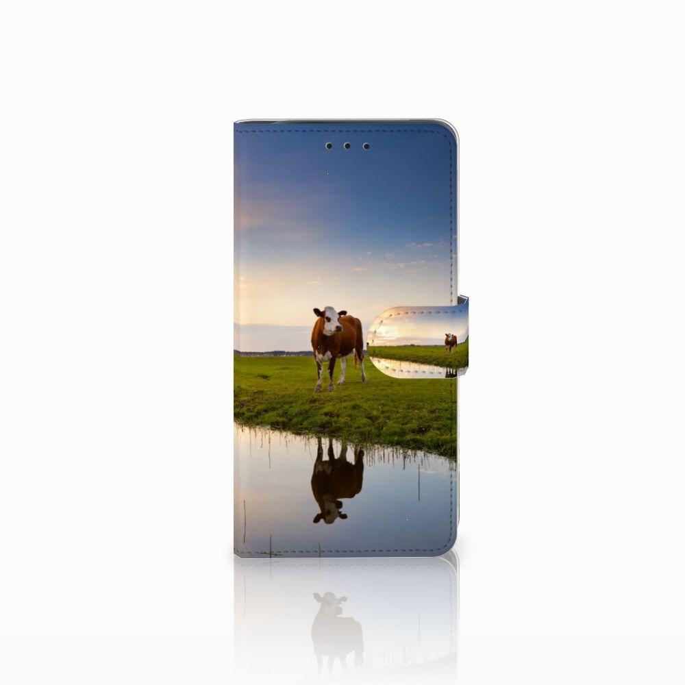 Samsung Galaxy J6 Plus (2018) Boekhoesje Design Koe