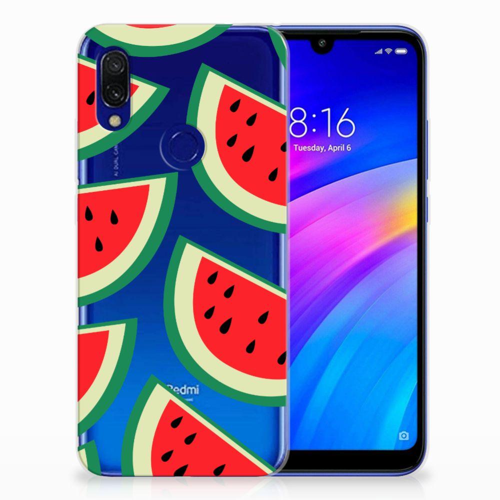 Xiaomi Redmi 7 Siliconen Case Watermelons